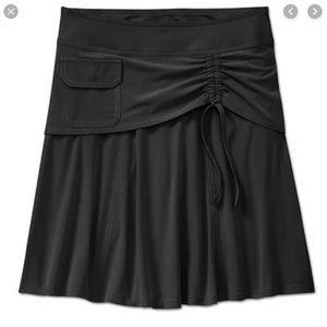 Athleta Black Wherever Skort Shorts Skirt
